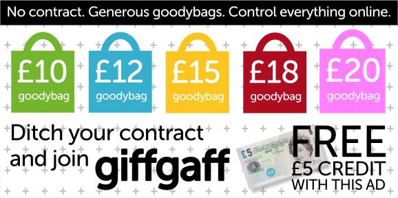 Get GiffGaff!